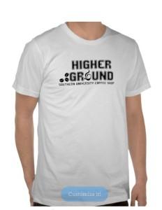 Higher Ground shirt