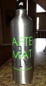 AM water bottle